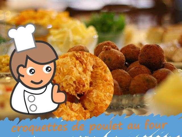 recettes de croquettes et poulet