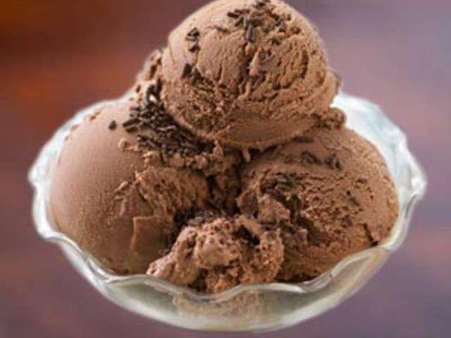 Recettes De Glace Au Chocolat Et Chocolat Noir