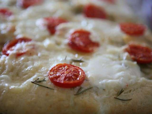 Focaccia tomate for Cuisine soleil