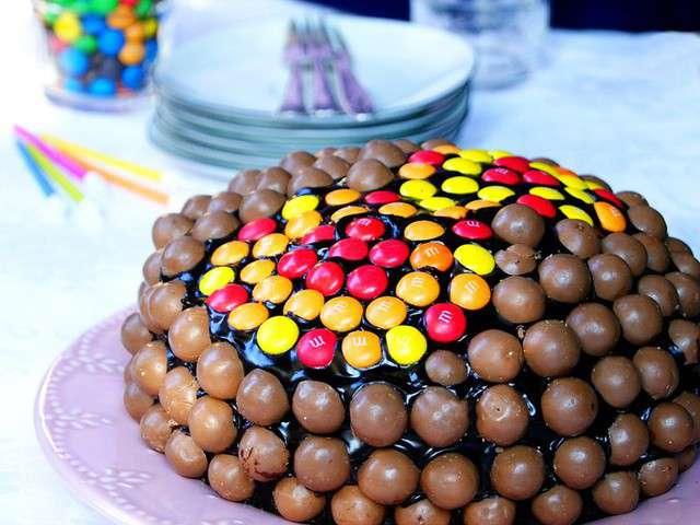 Recettes de g teau d 39 anniversaire et bonbons - Idee paquet bonbon pour anniversaire ...