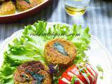 Pois Chiches, Orties & Courgettes en Galettes