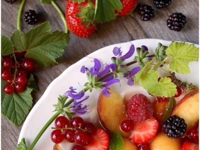 les meilleures recettes de salade de fruits 3. Black Bedroom Furniture Sets. Home Design Ideas
