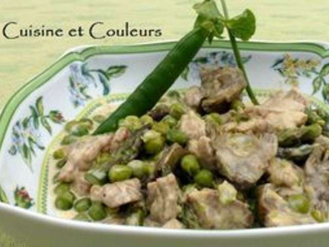 Recettes de ris de veau 6 for Accords mets vins cuisine