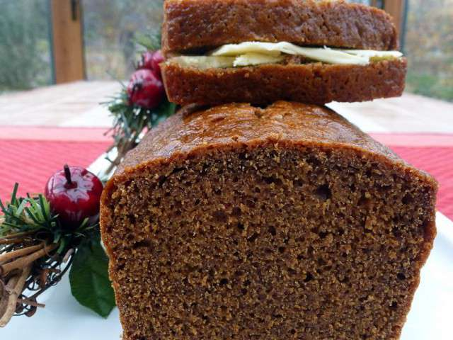 Recettes de pain d 39 pices et beurre - Recette pain d epice sans oeuf ...