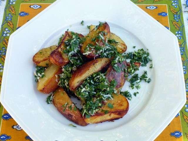 Recettes de pomme de terre de cuisine et couleurs for Rangement pomme de terre cuisine