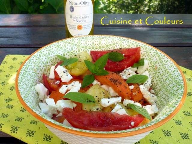 Recettes de fruits d 39 t et salades - Salade originale ete ...