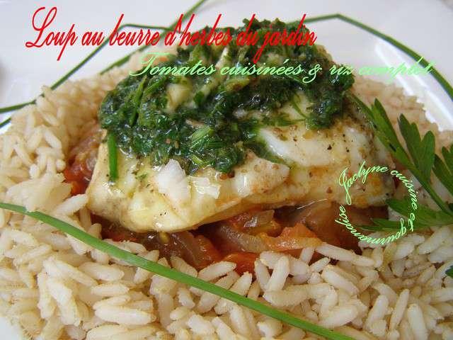 Recettes de loup de cuisine et gourmandise - Cuisine et gourmandise ...