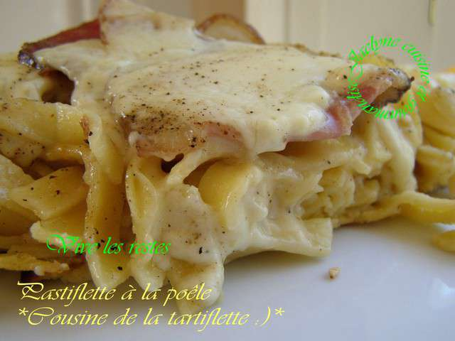 Recettes de tartiflette de cuisine et gourmandise - Cuisine et gourmandise ...
