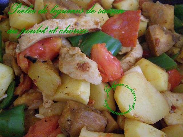 Recettes de l gumes et poulet 24 - Cuisine et gourmandise ...