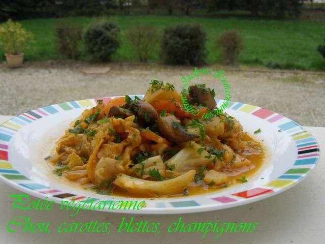 Recettes de blettes et champignons - Cuisine et gourmandise ...