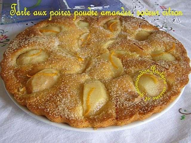 Recettes de poire et amande 29 - Cuisine et gourmandise ...