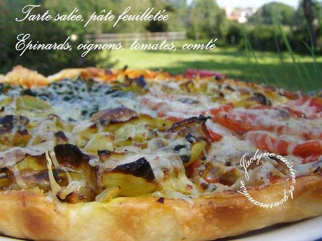 Recettes de tarte sal es et p te feuillet e 2 - Cuisine et gourmandise ...