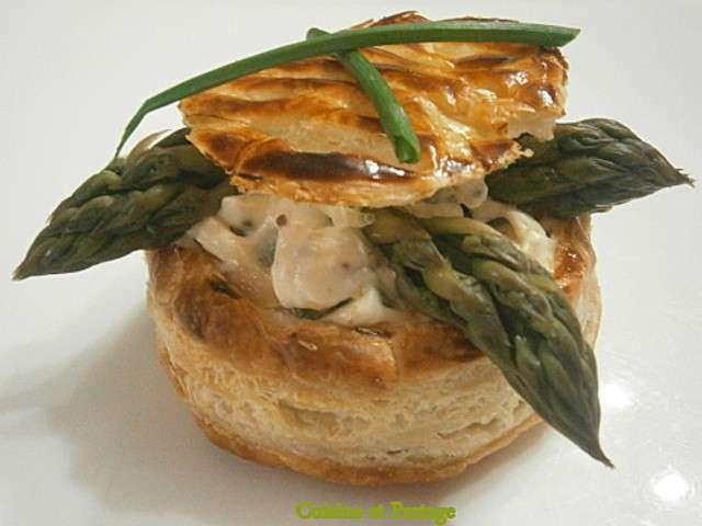 Recettes de feuilletes aux asperges vertes et mascarpone - Cuisine au mascarpone ...