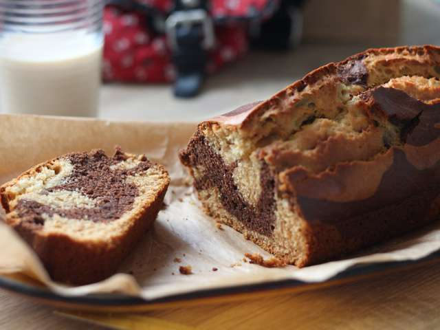 Recettes de g teau marbr et sucre - Gateau au chocolat sans sucre ...