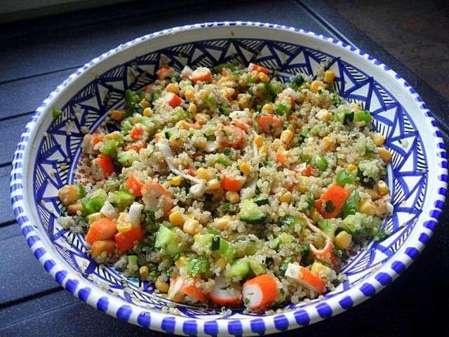 Les meilleures recettes de salades et quinoa for Cuisine quinoa
