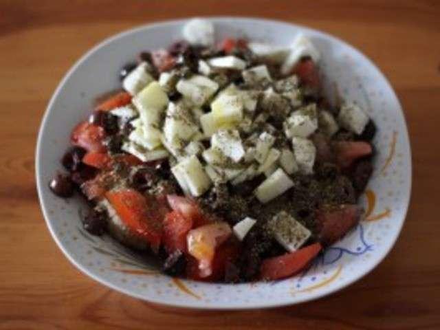 Recettes de salade de tomates de cuisine grecque fr for Cuisine grecque