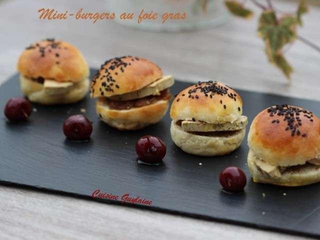 Recettes de mini burger et burger 5 - Herve cuisine hamburger ...