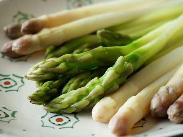 Recettes d 39 asperges vertes - Cuisson des pleurotes recette de cuisine ...