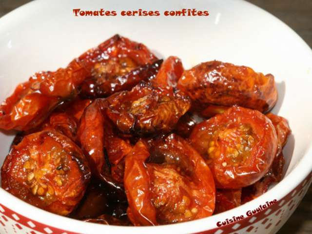 les meilleures recettes de tomates cerises et cerises confites. Black Bedroom Furniture Sets. Home Design Ideas
