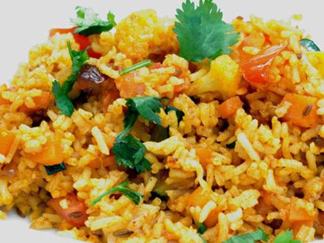 Recettes de riz frit de cuisine indienne en vid o - Blog recette de cuisine asiatique ...