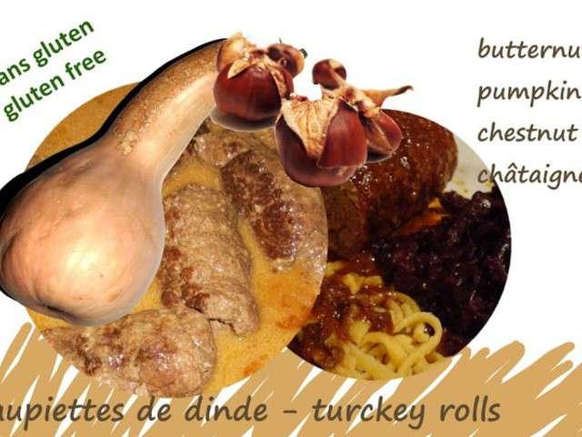 Recettes de dinde aux marrons - Cuire des marrons en conserve ...
