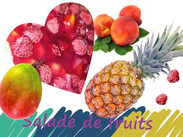 Recettes de salade de fruits et ananas - Salade de fruits maison ...