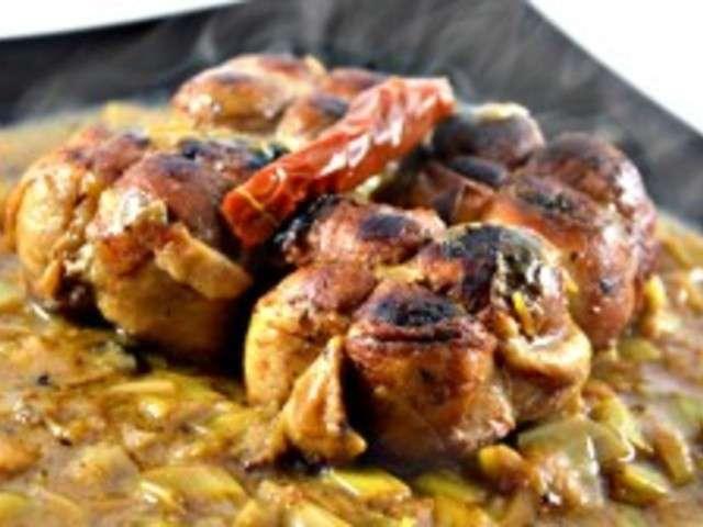 Les meilleures recettes de paupiettes et poireaux - Recette paupiette porc ...