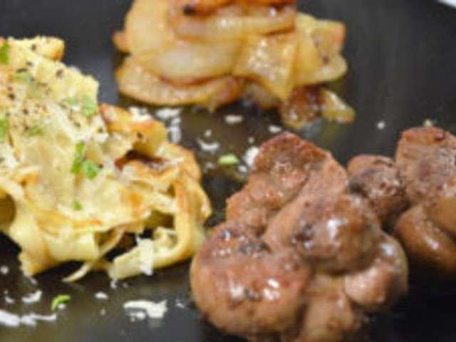 Recettes de veau et oignons - Cuisiner rognons de veau ...