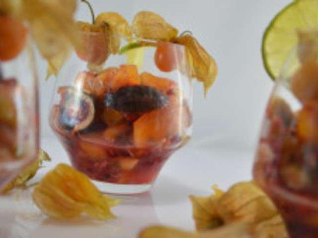 Recettes de salade de fruits exotiques de cuisine maison - Salade de fruits maison ...