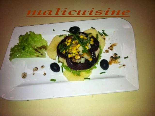 recettes de salades de cuisine marocaine revisitee. Black Bedroom Furniture Sets. Home Design Ideas