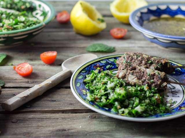 Recettes de taboul libanais de cuisine moi un mouton for Cuisine moi un mouton