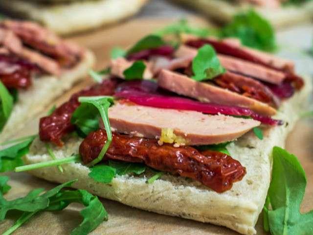 Recettes de toasts et tomates s ch es - Comment cuisiner un magret de canard ...