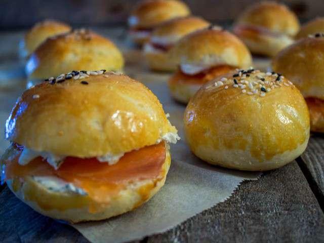Recettes de hamburger et saumon for Cuisine moi un mouton
