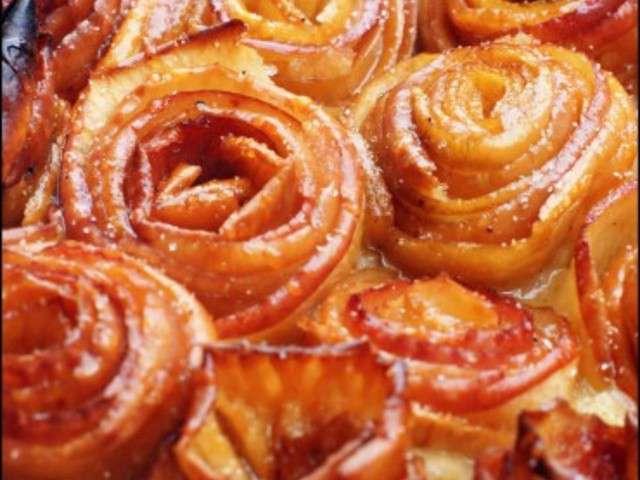 Recettes de tarte aux pommes de cuisine patisserie for Cuisine patisserie