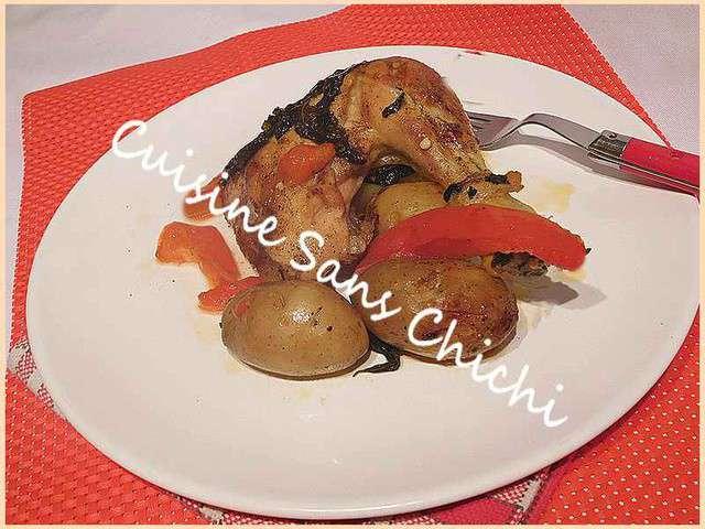 Recettes de poulet de cuisine sans chichi pagescuisine - Cuisine sans four etudiant ...