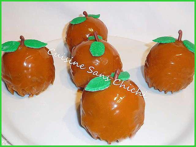 Recettes d 39 automne et desserts for Glacage miroir caramel