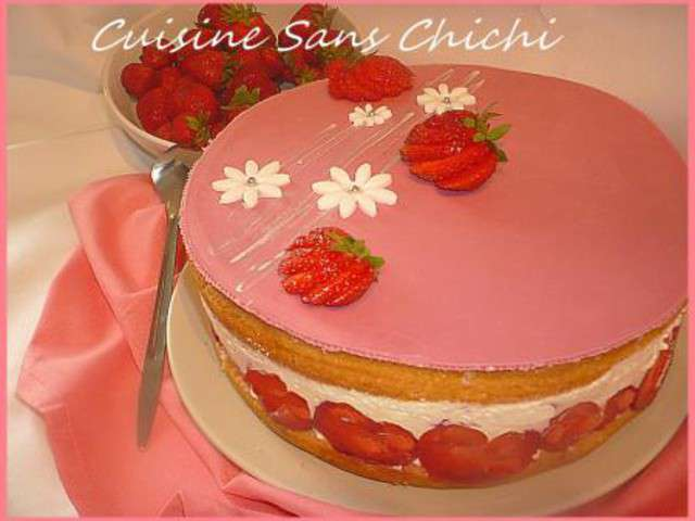 Recettes de fraisier et mascarpone 2 - Cuisine au mascarpone ...