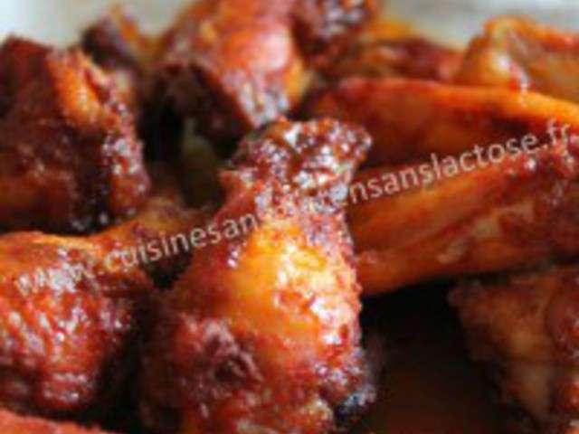 Recettes d 39 ailes de poulet et paprika - Blog cuisine ss gluten ...