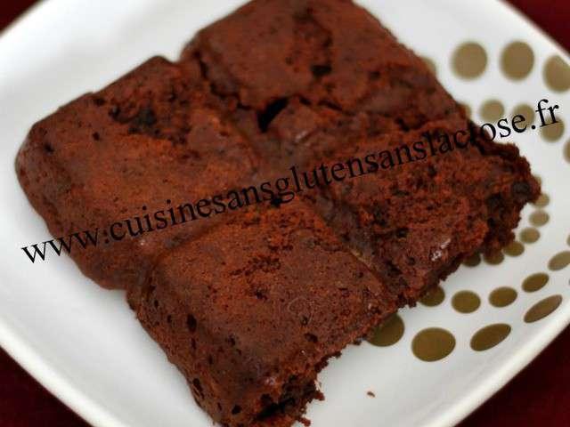 Recettes de chocolat de cuisine sans gluten et sans lactose - Gateau au chocolat sans farine ...
