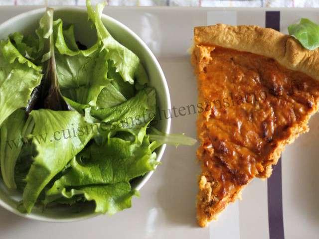 Recettes de tarte au thon de cuisine sans gluten et sans - Recettes cuisine sans gluten ...