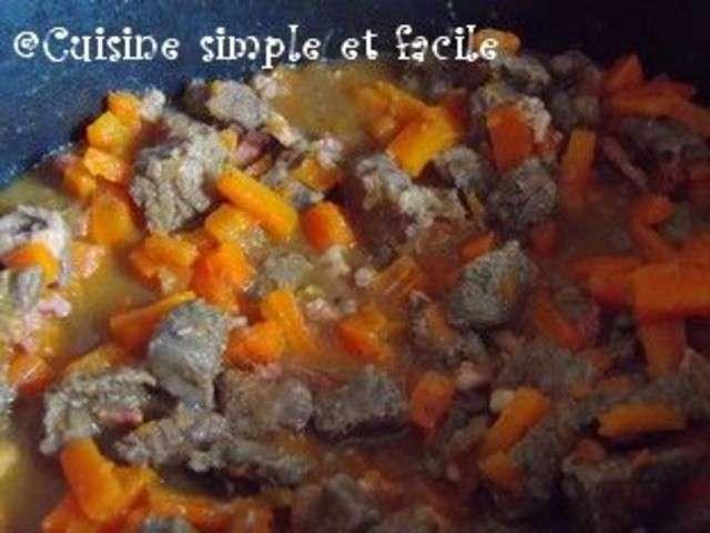 Recettes de boeuf aux carottes de cuisine simple et facile for Cuisine simple et facile