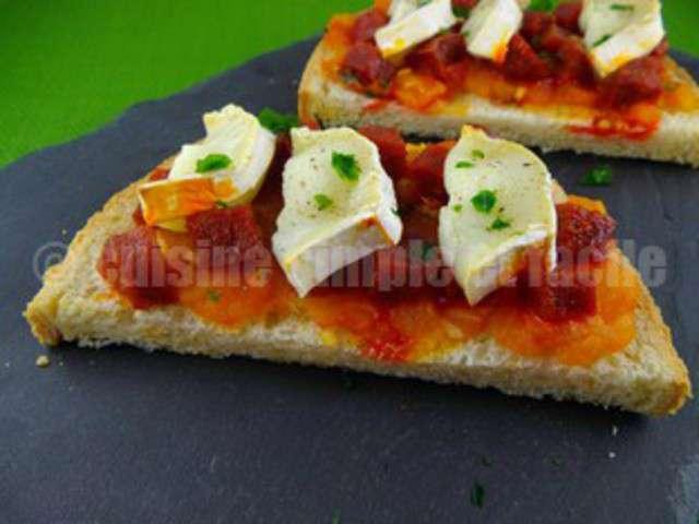 Recettes de bruschetta de cuisine simple et facile - Recette de cuisine simple ...