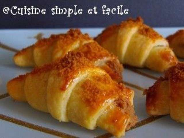 Recettes de croissants de cuisine simple et facile for Cuisine simple et facile