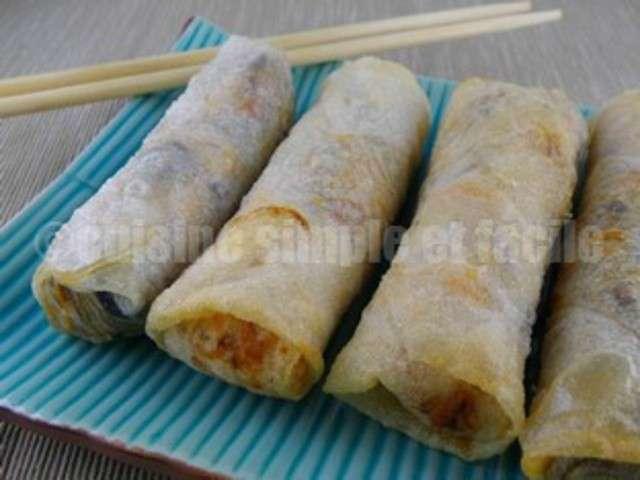 Recettes de nems de cuisine simple et facile for Cuisine simple et facile