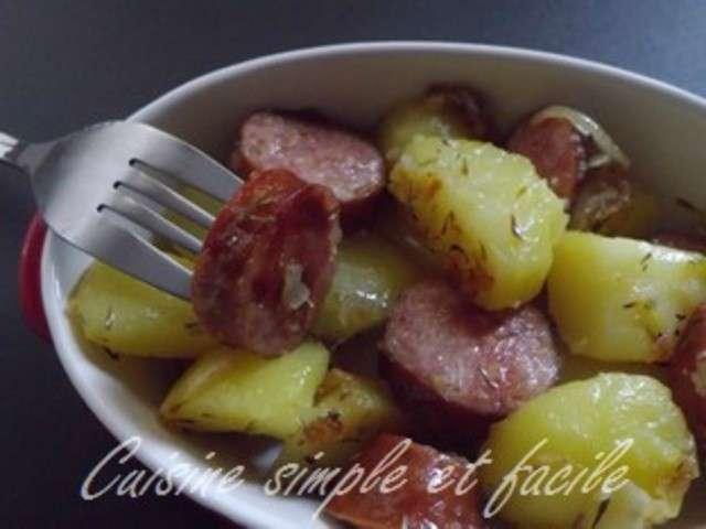Recettes de pomme de terre et saucisse 8 for Cuisine simple et facile