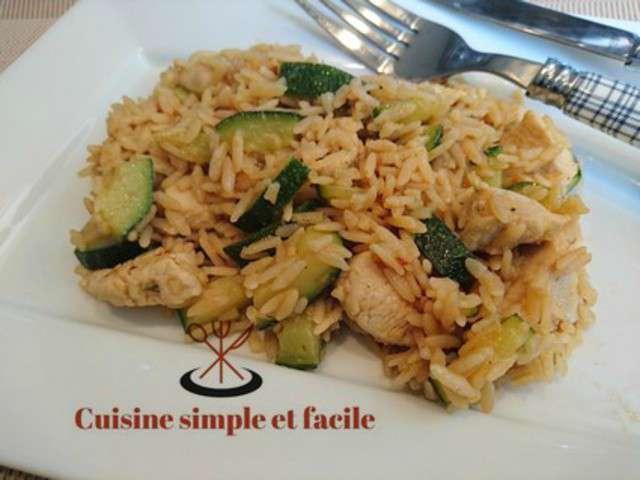 recettes de riz de cuisine simple et facile