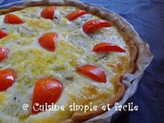Recettes de quiche au poulet de cuisine simple et facile - Recette de cuisine quiche au poulet ...