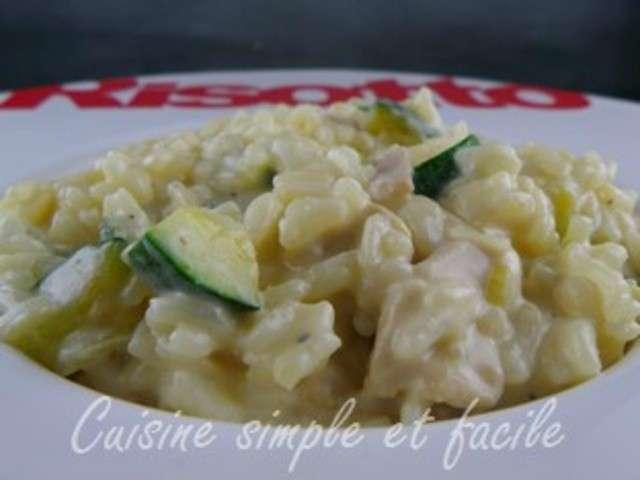 Les meilleures recettes de risotto de cuisine simple et facile for Cuisine simple et facile