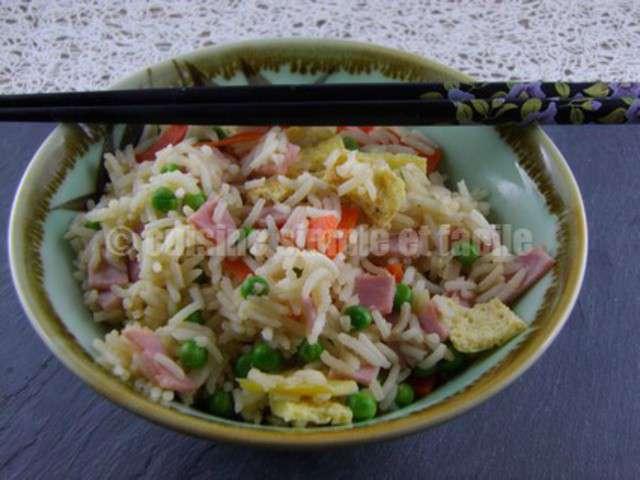Recettes de riz cantonais de cuisine simple et facile - Blog recette de cuisine simple ...