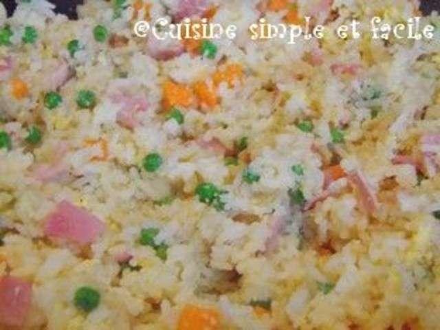 Recettes de riz cantonais de cuisine simple et facile for Blog cuisine facile
